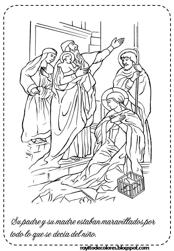 Compartiendo por amor: Presentación Jesús en el templo