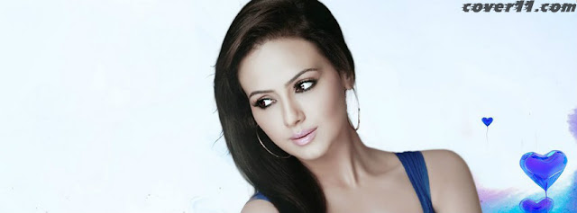 Sana Khan Facebook Cover Photos 2013