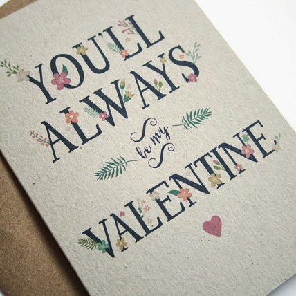 Ma Bicyclette: Buy Handmade | Valentine's Day Cards - you'll always be my valentine