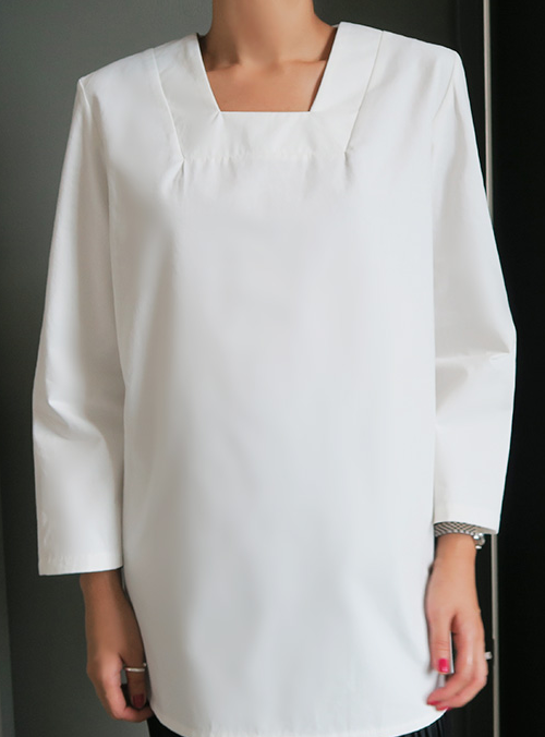Loose Square Neck Blouse