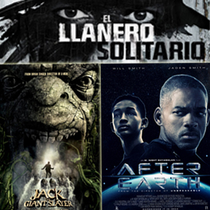 "Post recopilatorio con los trailers en español de ""El Llanero Solitario"", ""After Earth"" y ""Jack el Caza Gigantes"""