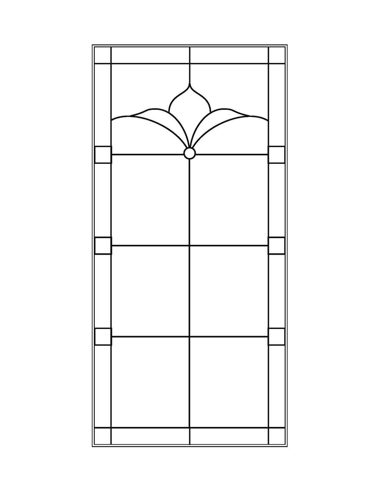 Stained Glass Window Patterns : Stained glass patterns for free november