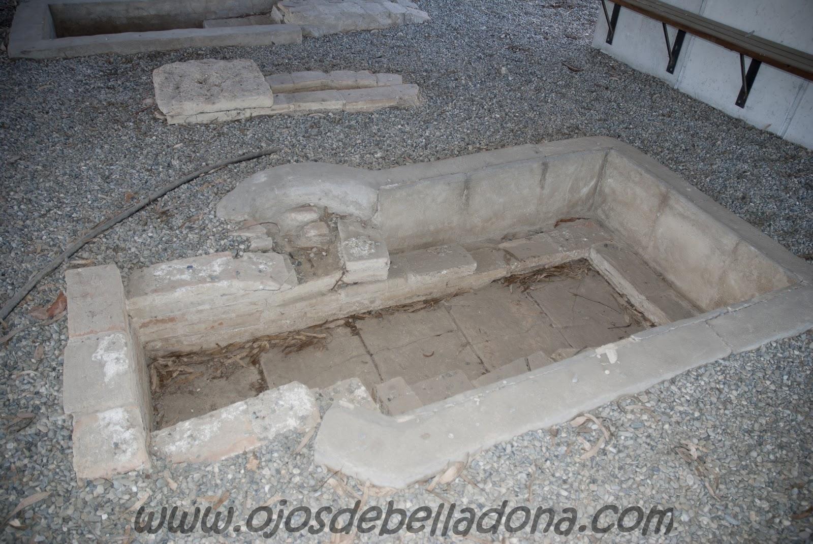 Necrópolis romana Museo de la Aviación de Málaga