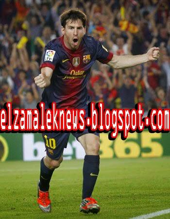 Lionel Messi play maker of FC Barcelona