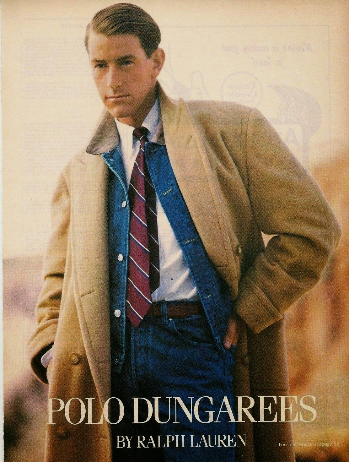 Polo Dungarees By Ralph Lauren 1988