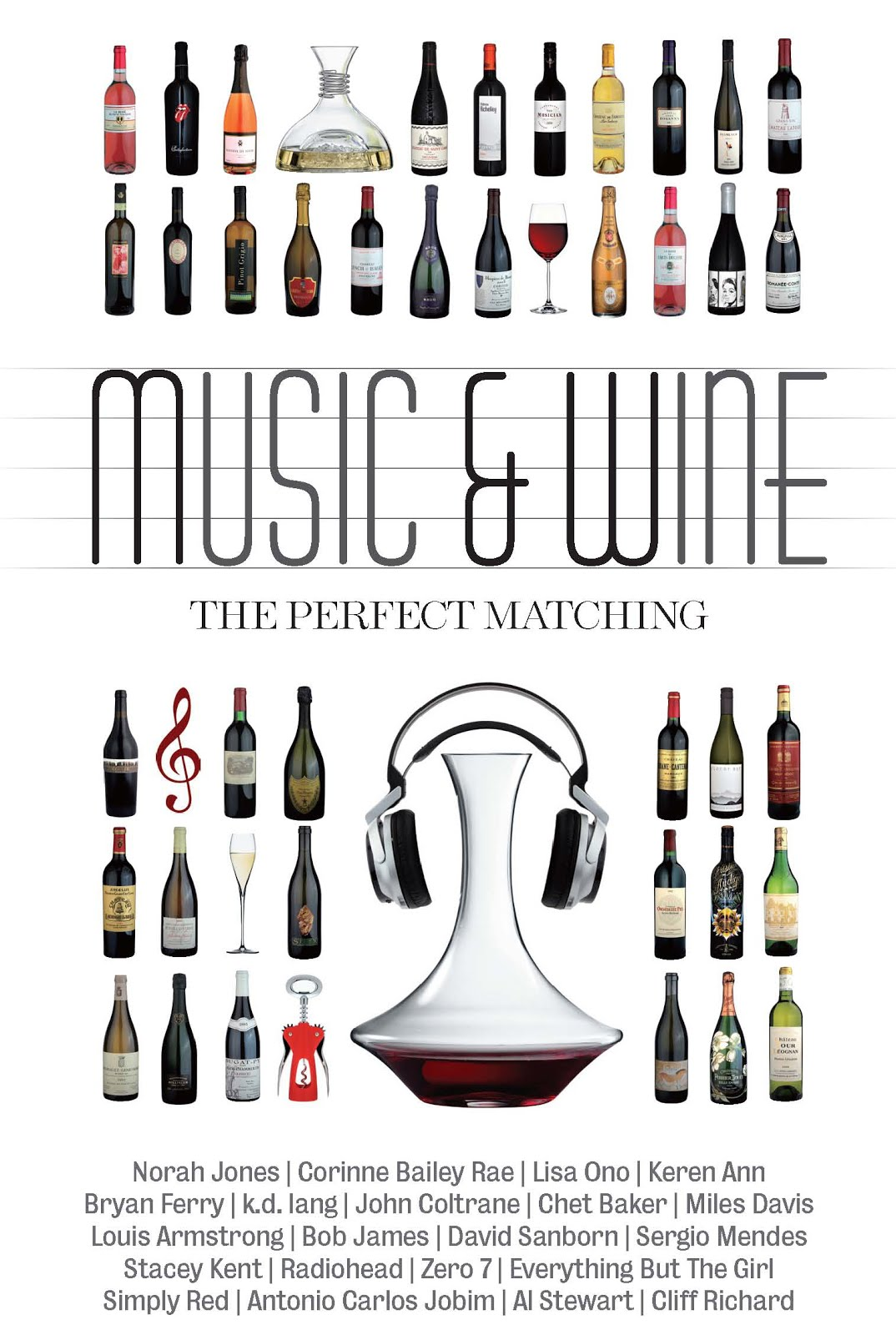 《Music & Wine: The Perfect Matching》華納唱片出版