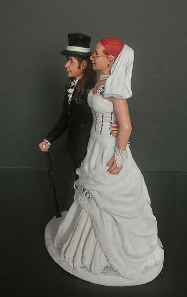 cake topper realistici idee regalo milano sposi sulla torta cake tops orme magiche