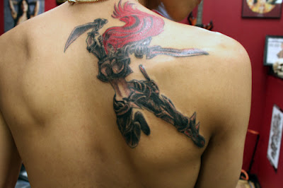 Katarina LOL Tattoo