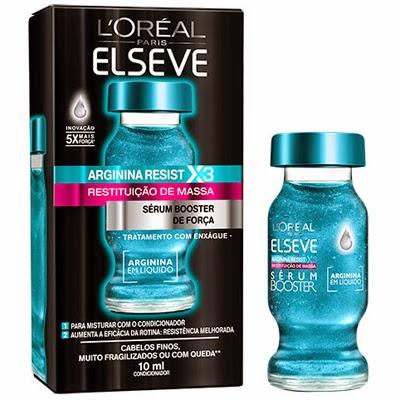 Sérum Booster de Força Arginina Resist Restituição de Massa L'Oréal Elseve