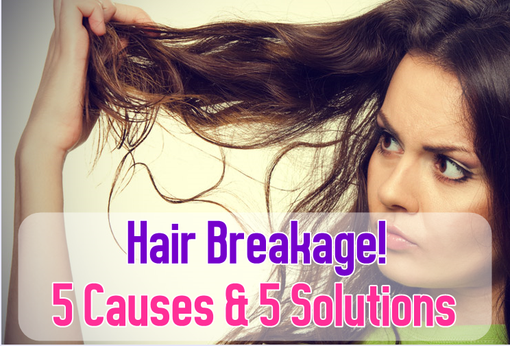 5 Causes and 5 Solutions for Hair Breakage