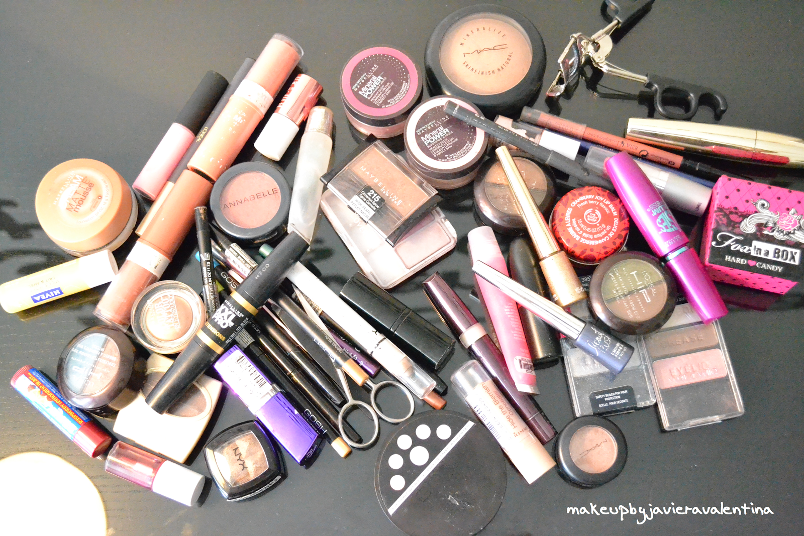 how to build up a makeup collection
