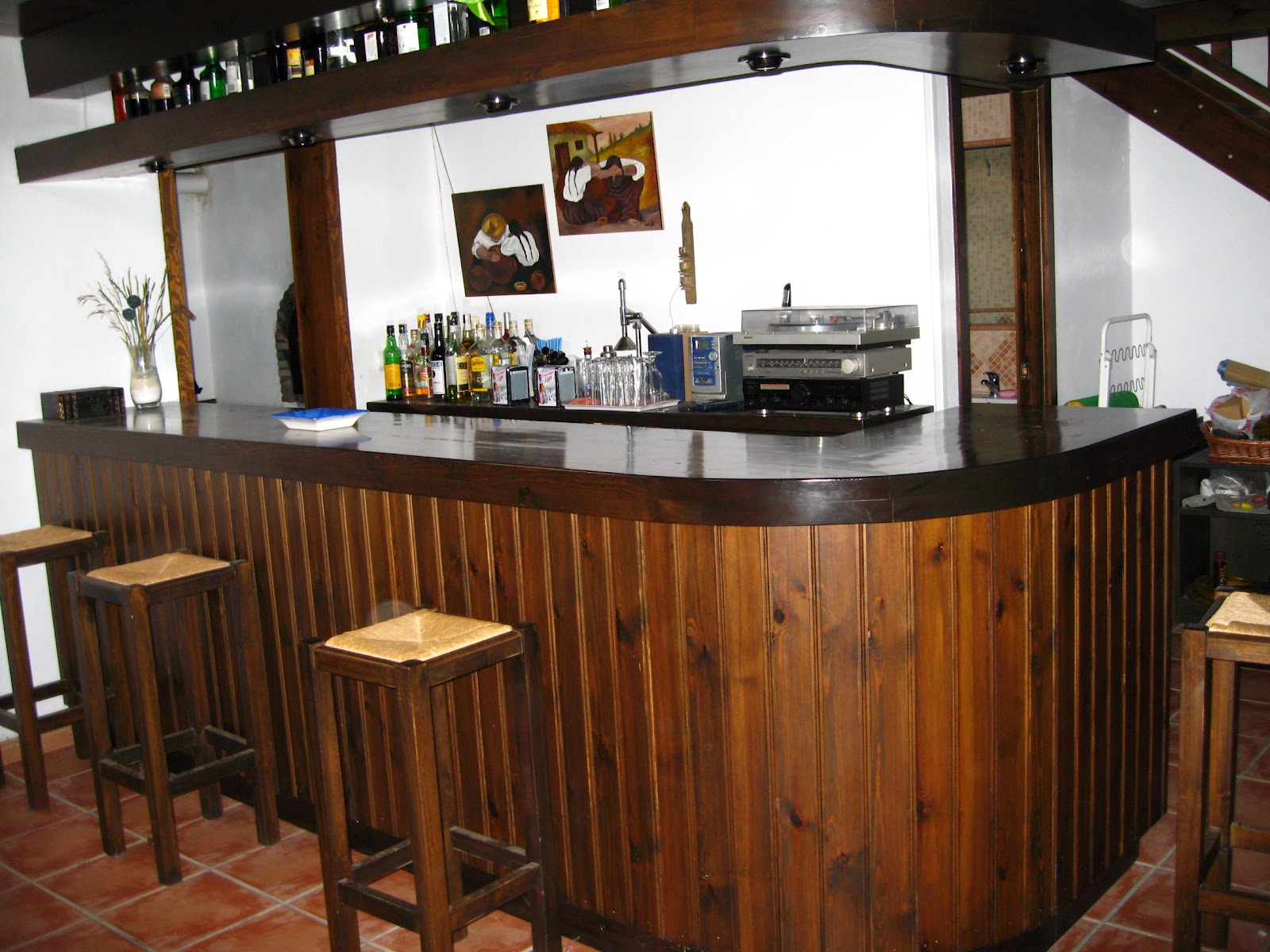 Reguimar for Barra bar madera