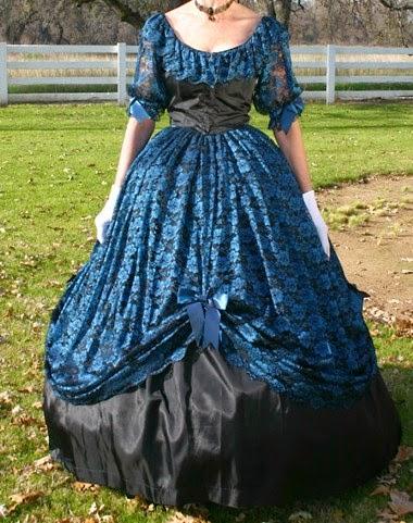Civil War Ball Gowns