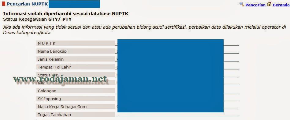 Cek Verifikasi Data Calon Peserta Sertifikasi Guru 2014