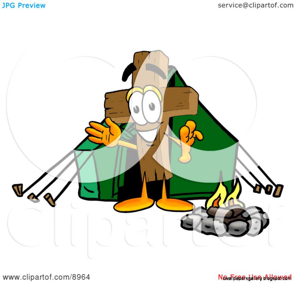 Cartoon Tent Clip Art