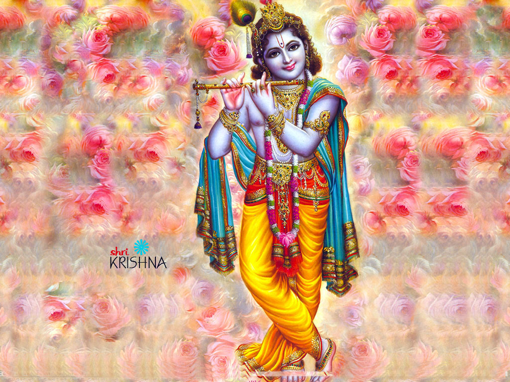 beautiful wallpaper of lord krishna