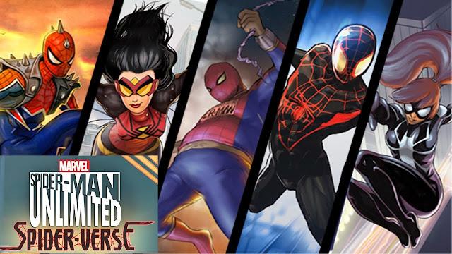 Spider-Man Unlimited Terbaru APK (MEGA MOD)