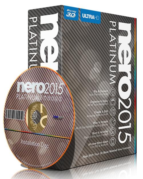 Nero 2015 Platinum 16.0.02800 Keygen with CRACK Image