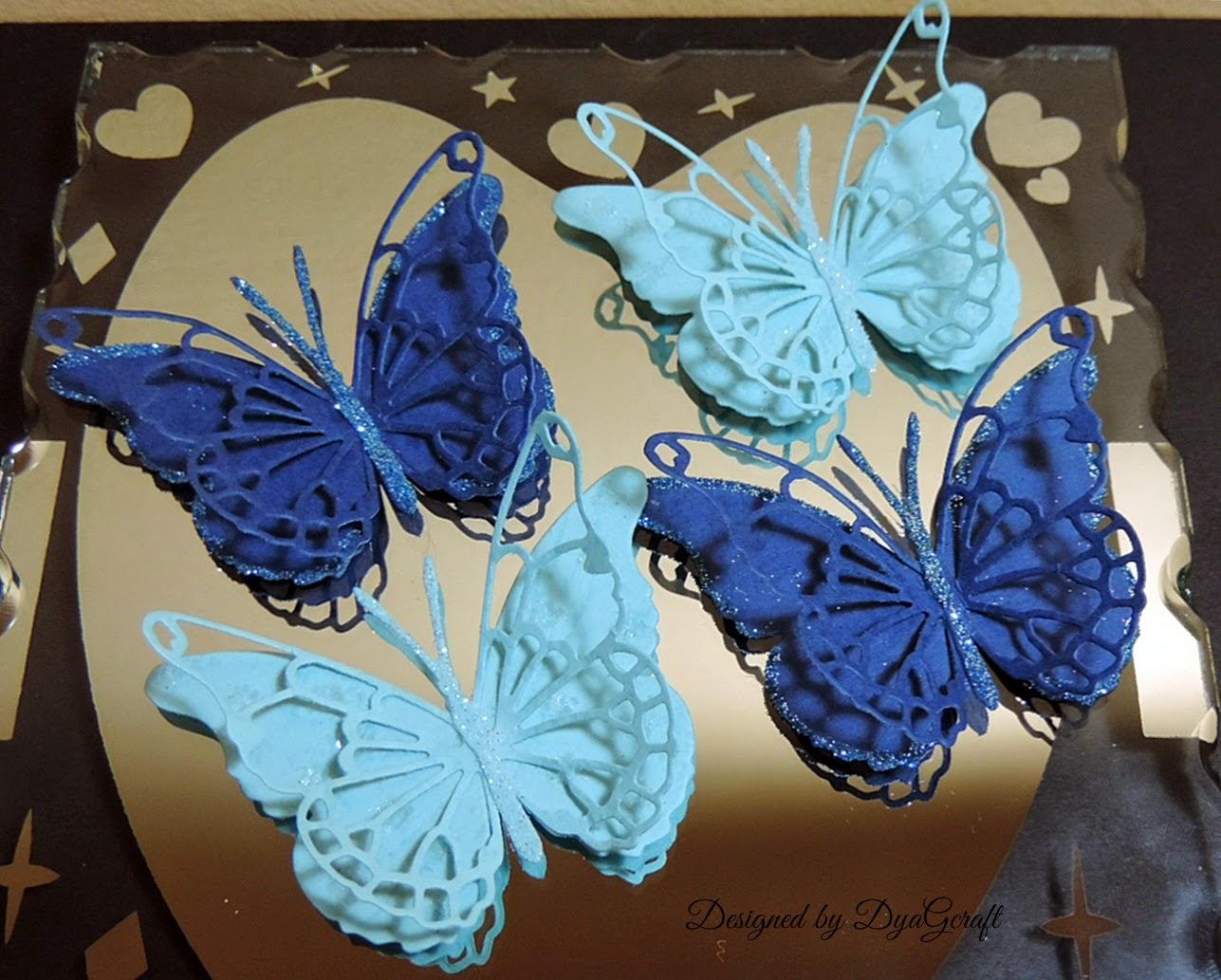 fluturi de nunta handmade