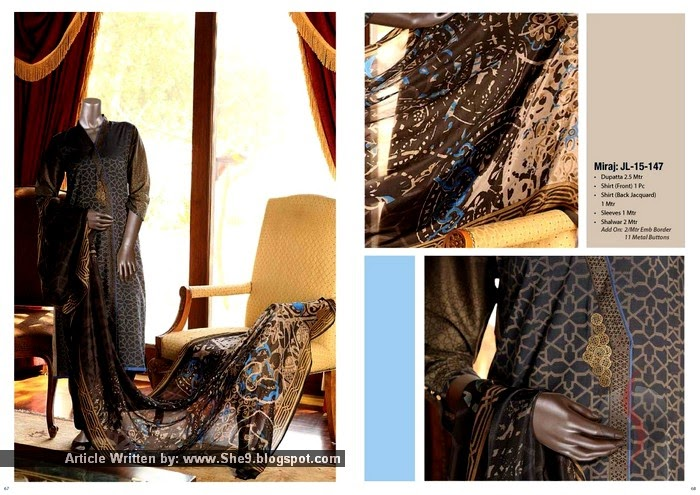 Junaid Jamshed 2015 - Spring-Summer Silk Collection 2015