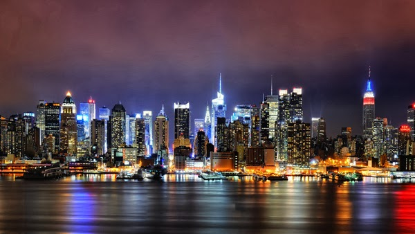 most beautiful cities at night in the world