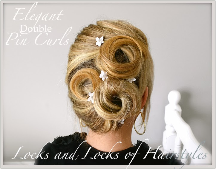 Locks And Locks Of Hairstyles Quick And Easy Video Tutorials - Classic hairstyle tutorials