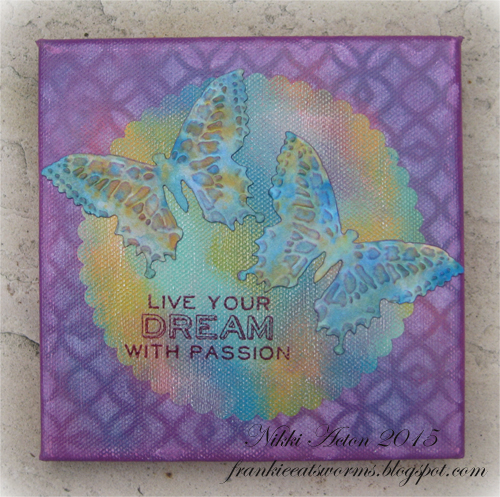 Butterfly Duo Canvas