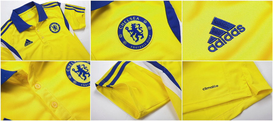 Detail 2015 Chelsea Polo Football Shirts From Thailand Quality 14-15 Chelsea training Shirts Polo Shirt Football Training POLO Jerseys
