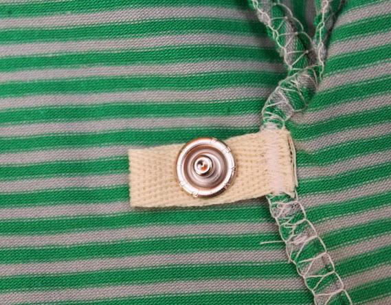 kwa kwa syblogg Att sätta fast knappar i en omlottbody