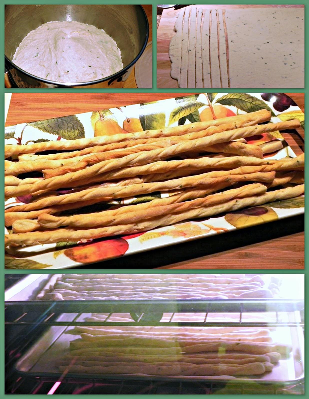 The Iowa Housewife: Crunchy Italian Bread Sticks