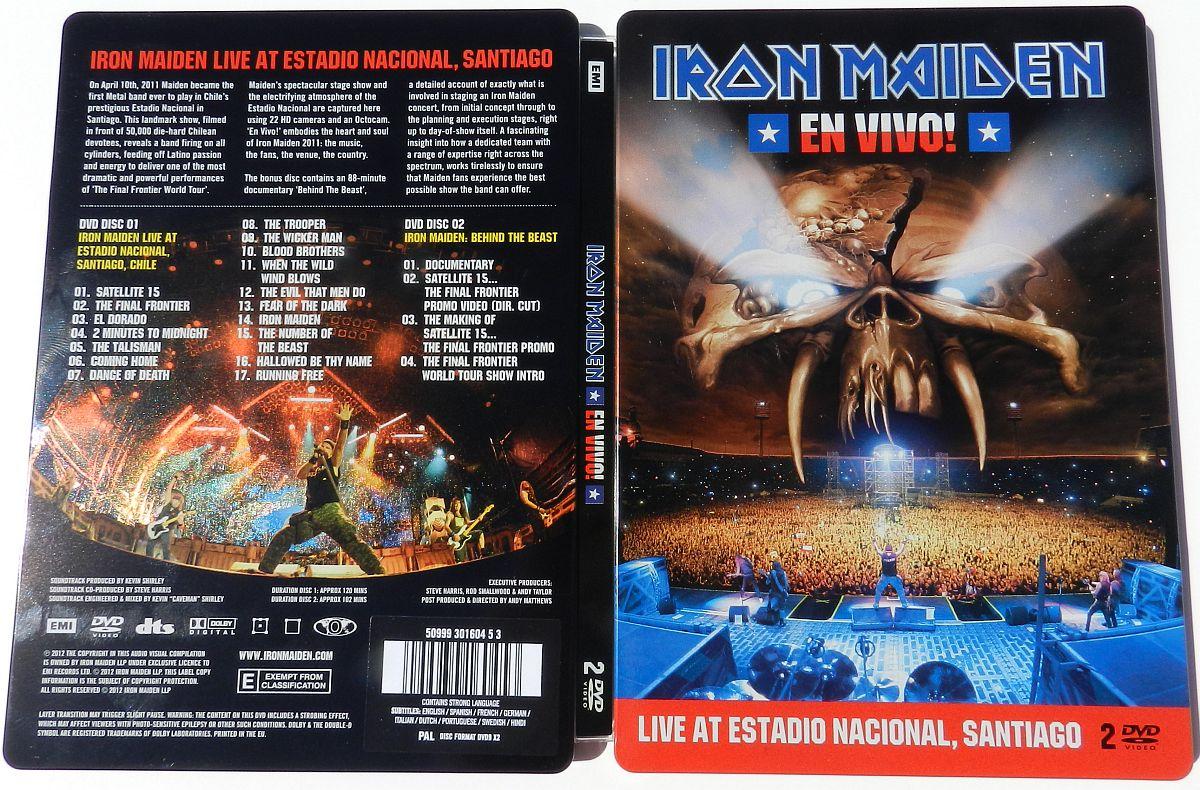 Iron Maiden En Vivo 2012