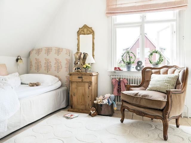 El jardin de los muffins blog de decoraci n vintage y tendencias encanto vintage en la - Dormitorios infantiles vintage ...