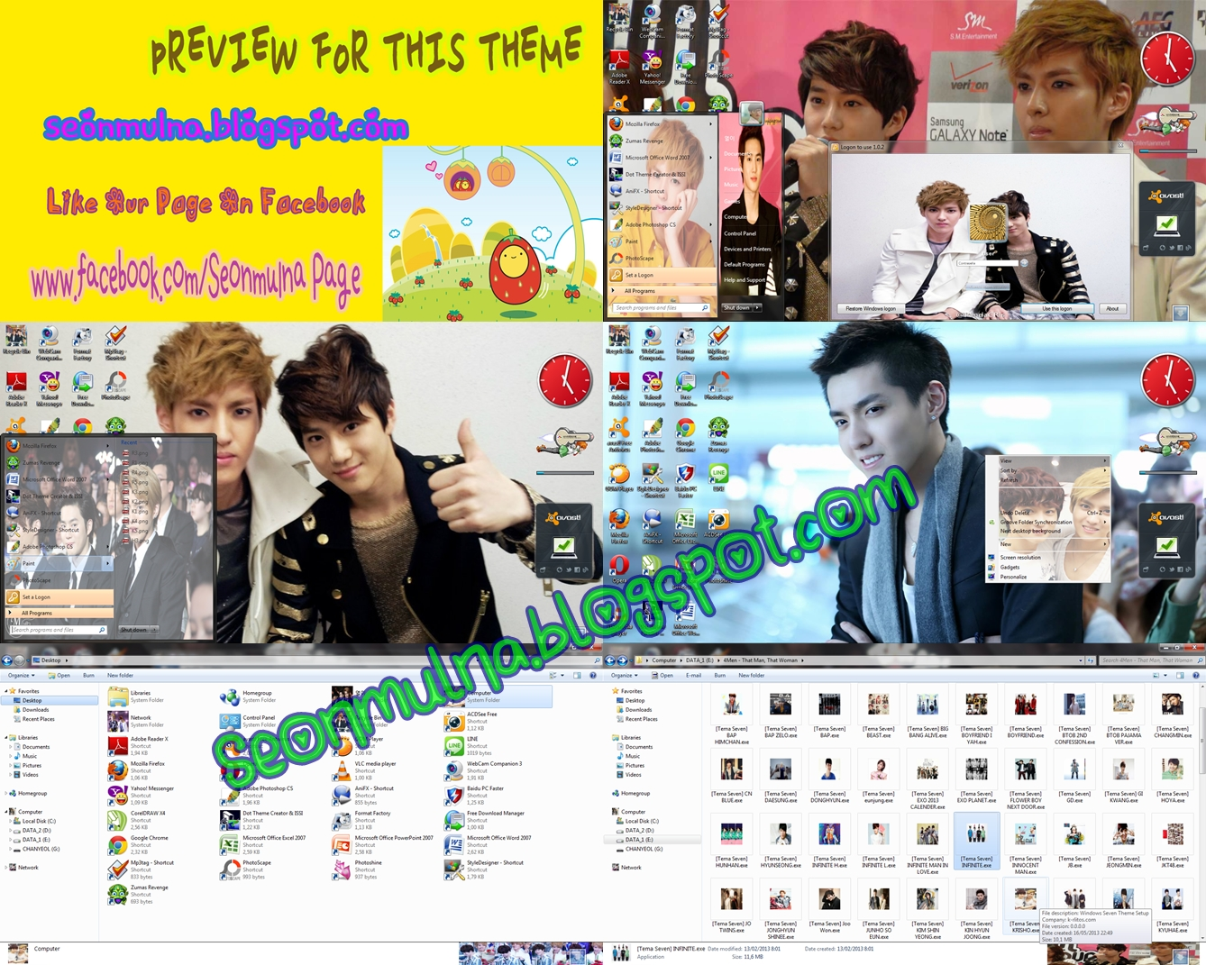 Download Kris Suho Teen Top Ricky Theme Everything It 39 S Ok