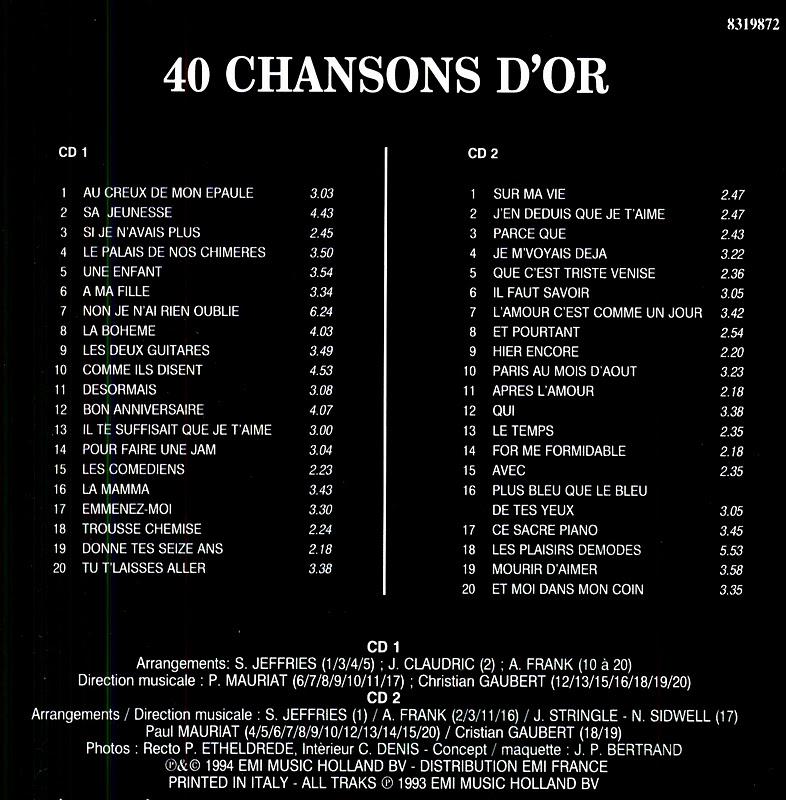 aznavour pour essayer de faire une chanson Pour essayer de faire une chanson - remastered 2014 by charles aznavour 2004 • 1 song, 1:32 play on spotify  listen to charles aznavour in full in the spotify .