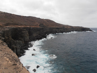 acantilados sobre el mar