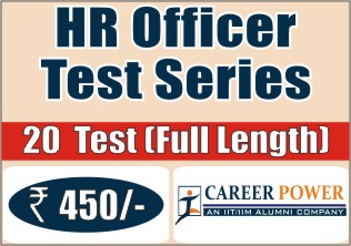 HR Officer Test Series