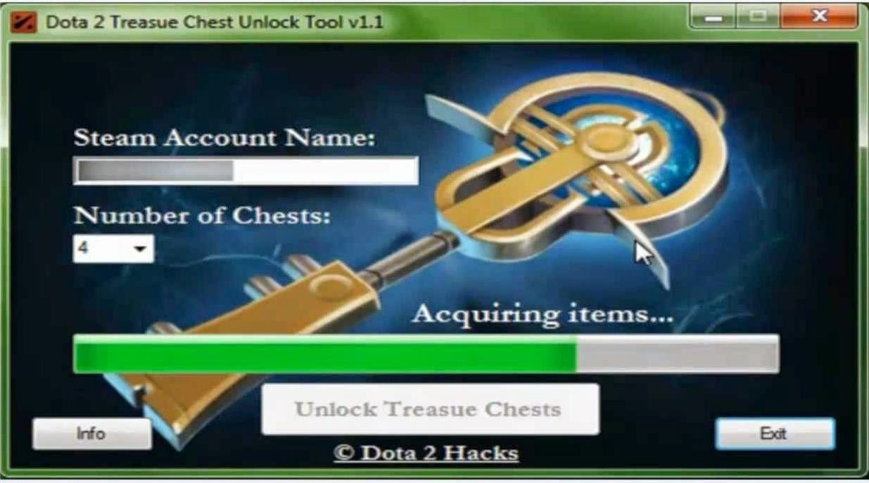 dota 2 treasure chest unlocker tool dota 2 chest hack 2014 all