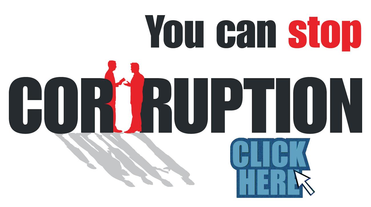 Help Stop Corruption