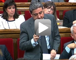 Pregunta Oral Ple Parlament al Conseller d'Economia