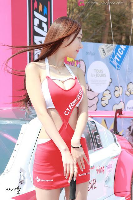 1 Yee Ah Rin - CJ SuperRace 2013  - very cute asian girl - girlcute4u.blogspot.com