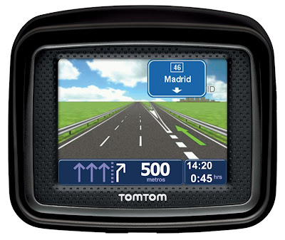 revista scooter el navegador tomtom urban rider estar. Black Bedroom Furniture Sets. Home Design Ideas