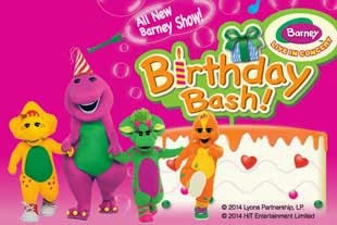 Barney LIVE in concert - Birthday Bash