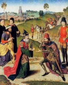 """Prima giornata del Decameron. Terzo racconto: """"La novella di Melchisedech giudeo"""" Riassunto+melchdisech+e+il+saladino"""