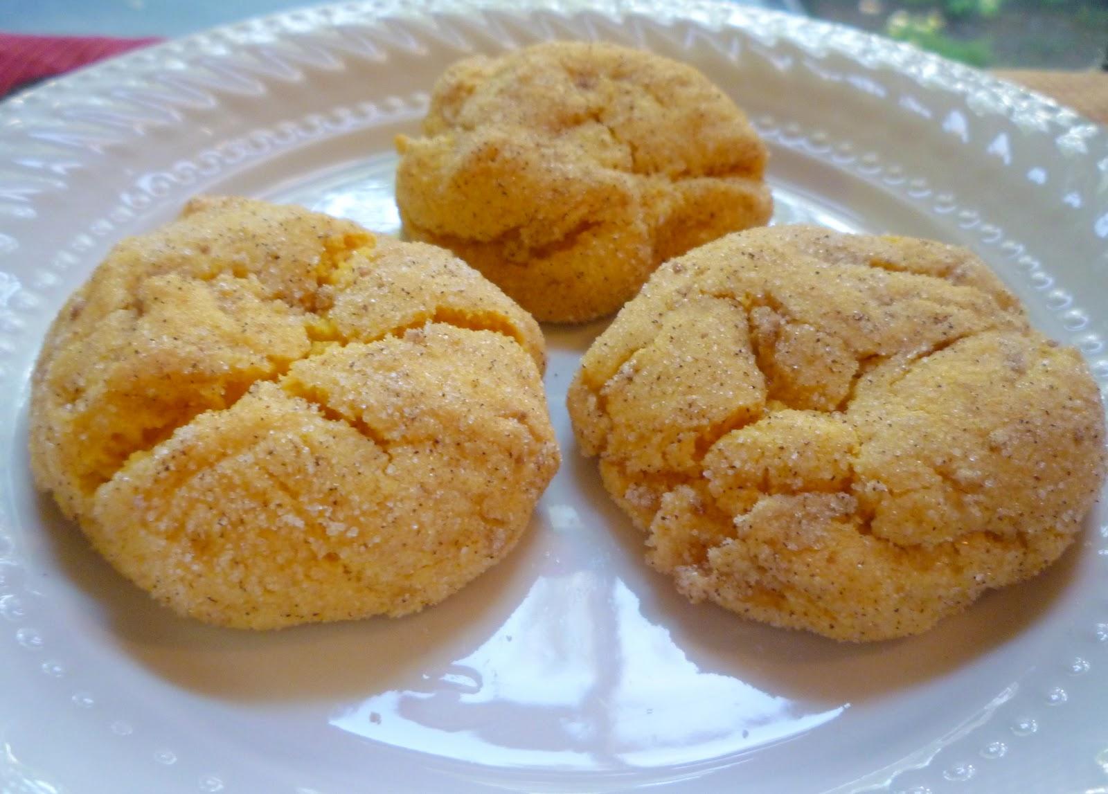 What's Baking in the Barbershop?!: Pumpkin Snickerdoodle Cookies