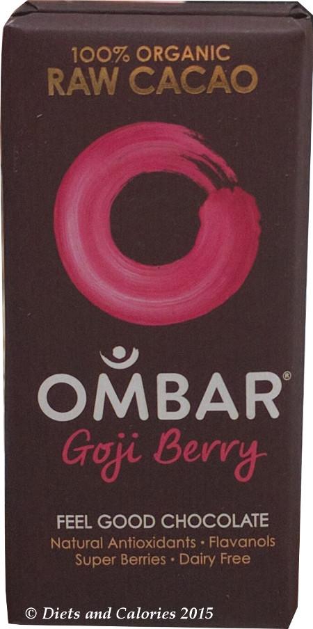 Chocolate And Goji Berry Bars