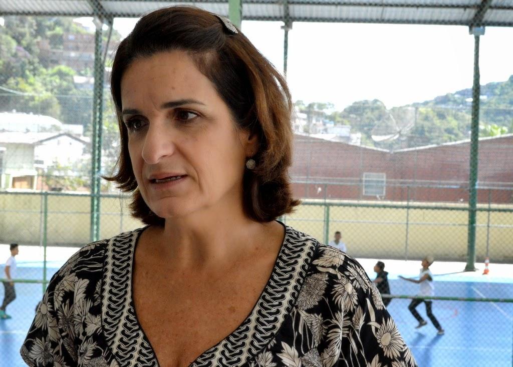 Heloisa Carreiro, diretora do Cerom, pontua que escola passou por diversas melhorias