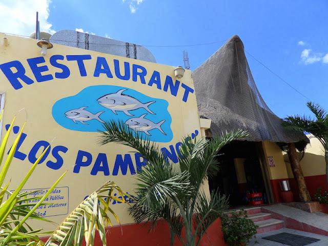 Restaurante onde almocamos