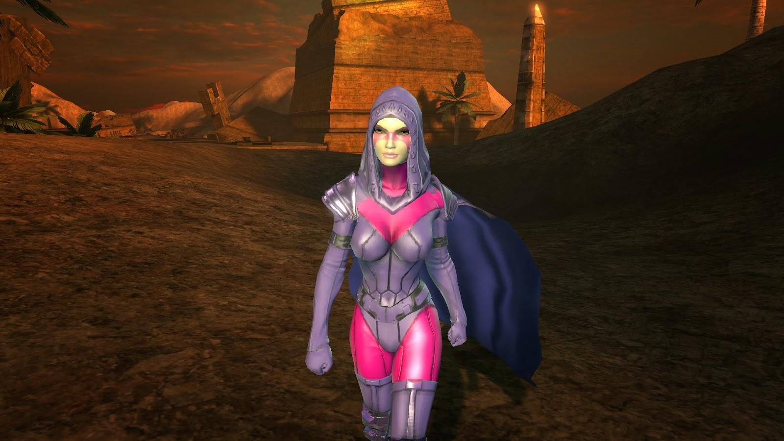 Marvel Universe Online Psylocke Australian Armor