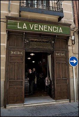 La Venencia Madrid bar