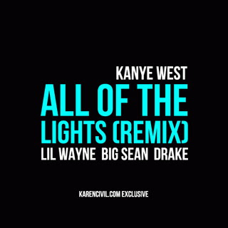 All+Of+The+Lights+Lyrics+Remix